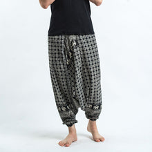 Load image into Gallery viewer, Men Relaxed-Leg Loose Trousers