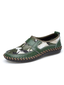 Camouflage Slip-on Casual Flat Shoes