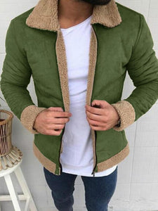 Pure Color Men Casual Jackets