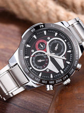 Load image into Gallery viewer, Men's Stainless Steel Waterproof Watch