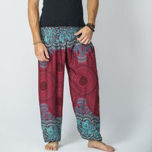 Load image into Gallery viewer, Men Folk-Custom Printed Harem Pants