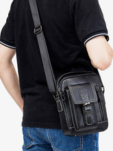 Load image into Gallery viewer, Solid Multi-layer Pocket Casual Crossbody Bag