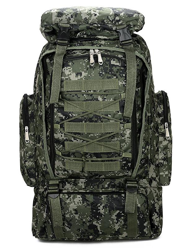 Large Capacity Outdoor Travel Camouflage Backpack