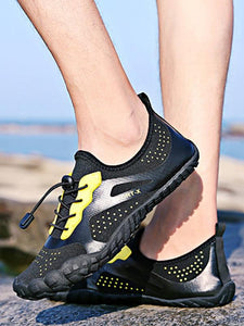 Men Casual Lace-up Breathable Athletic Shoes