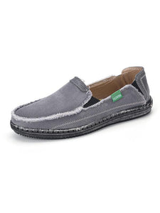 Men's Canvas Slip-on Skate Shoes
