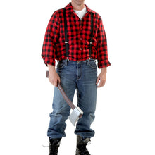 Load image into Gallery viewer, Men Traditional Plaid Shirt