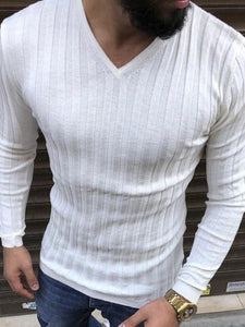 Men's Round Neck Basic Tee Sweat Shirt