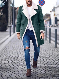 Winter Fashion Lapel Coat