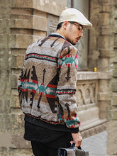 Load image into Gallery viewer, Men Popular Warm Printing Jacket