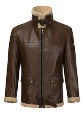 Load image into Gallery viewer, Men Fashion Warm Leather Outerwear