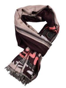 Men's Flannel Graphic Scarfs