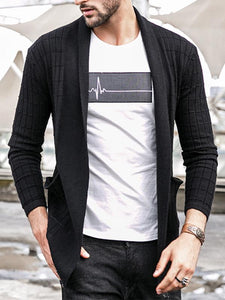 Men Casual Knitted Cardigan