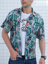 Load image into Gallery viewer, Men Printing Short Sleeve Shirt