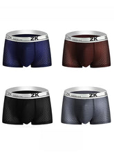 Load image into Gallery viewer, 4PCS Men's Breathable Boxer Underwear
