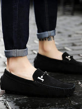 Load image into Gallery viewer, Solid Slip-on Simple Casual Loafers Flat Shoes