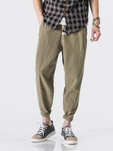 Load image into Gallery viewer, Men's Solid Casual Pants