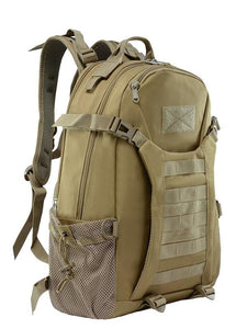 Canvas Buckles Weekender Large Size Backpack