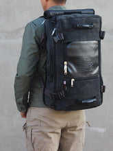 Load image into Gallery viewer, Canvas Large Capacity Outdoor Backpack