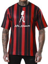 Load image into Gallery viewer, Men Striped Jersey T-Shirt