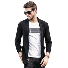 Load image into Gallery viewer, Men Casual Knitted Cardigan