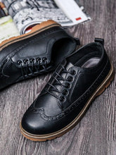 Load image into Gallery viewer, Men Hollow Lace-up Casual Fashion Flat Shoes