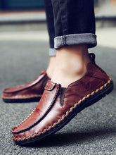 Load image into Gallery viewer, Solid Slip-on Casual Loafers Flat Shoes