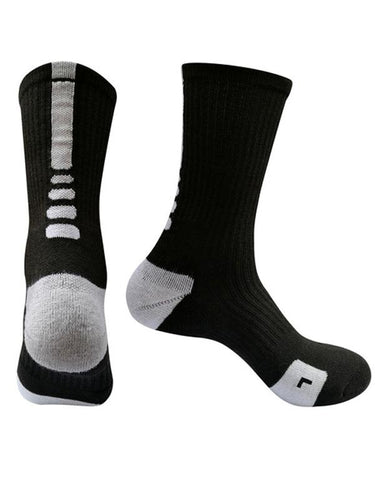 5Pairs Dri-fit Breathable Cotton Socks(For US Size7-9.5)