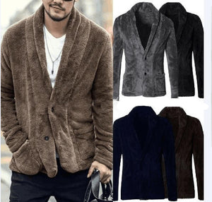 Men V-Neck Blazer Jacket