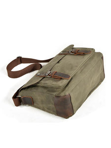 Men Casual Canvas Large Capacity Outdoor Handbag