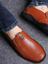 Load image into Gallery viewer, Men Comfortable Casual Loafers Flat Shoes