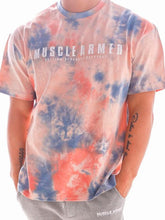 Load image into Gallery viewer, Men Tie-Dye Short Sleeve Shirt