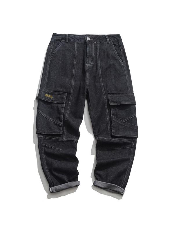 Men's Loose Casual Denim Pants