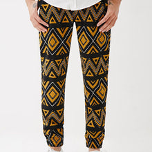Load image into Gallery viewer, Men Color Square Printed Pants