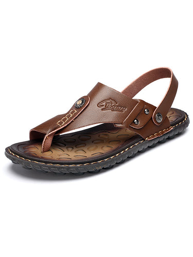 Men Casual Beach Flat Sandal