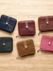 Multifunction Solid Simple Handbag Wallet