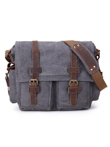 Men Fashion Canvas Casual Crossbody Bag