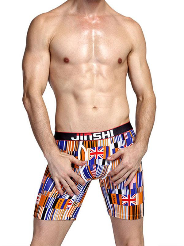 Men's Printed Boxer Underwear