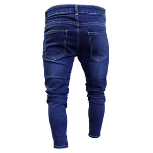 Men Blue Tapered Jeans