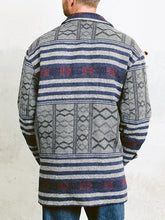 Load image into Gallery viewer, Men Vintage Aztec Navajo Print Hippie Spring Jacket