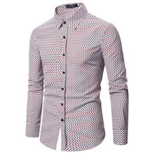Load image into Gallery viewer, Men Long Sleeve Printing Shirt
