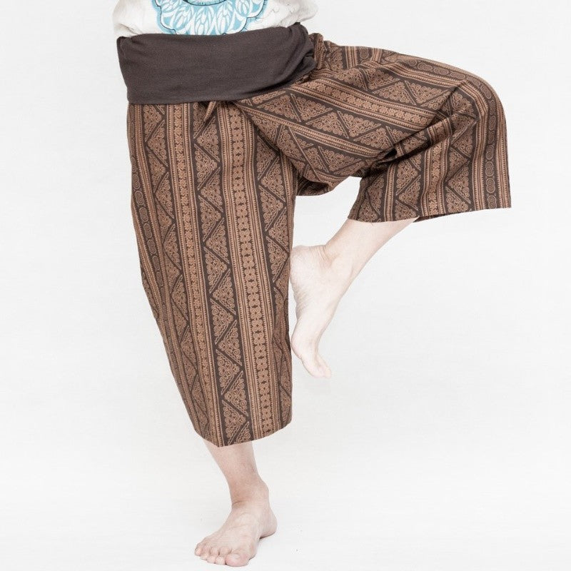 Men Ethnic Printed Loose Pants