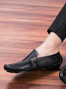 Men Breathable Flat Loafers Shoes