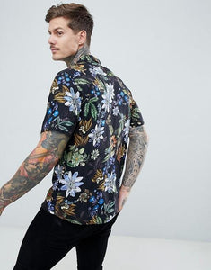 Men Bohemian Style Vacation Shirt
