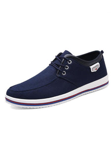 Men's Canvas Breathable Skate Shoes