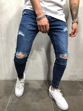 Load image into Gallery viewer, Men Winter Stretch Jeans