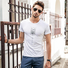 Load image into Gallery viewer, Men Round Neck Printed T-Shirt