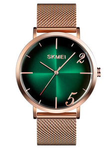 Skmei 9200 Men Stainless Steel Waterproof Business Quartz Watch