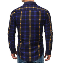 Load image into Gallery viewer, Men's Cotton Long Sleeve Blouse Shirts
