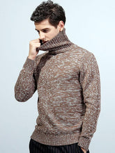 Load image into Gallery viewer, Men High Neck Sweater Tops