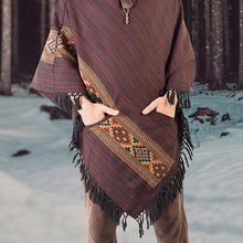 Load image into Gallery viewer, Men Hoodie Shawl&Cloak